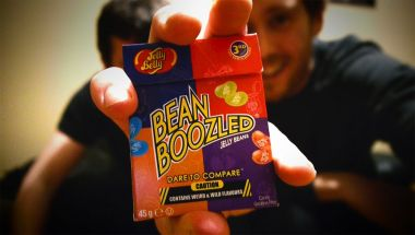 THE BEAN BOOZLED CHALLENGE